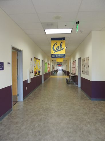 Modular School Building Interior Corridor