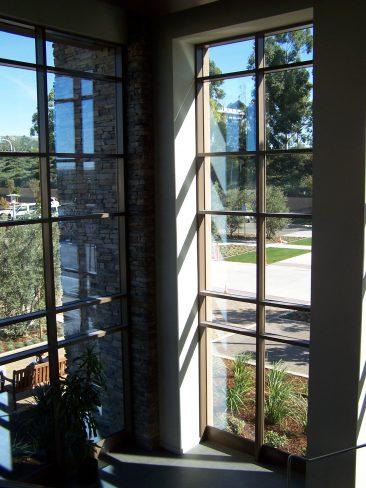 Crean Lutheran School Building - Full Height Windows