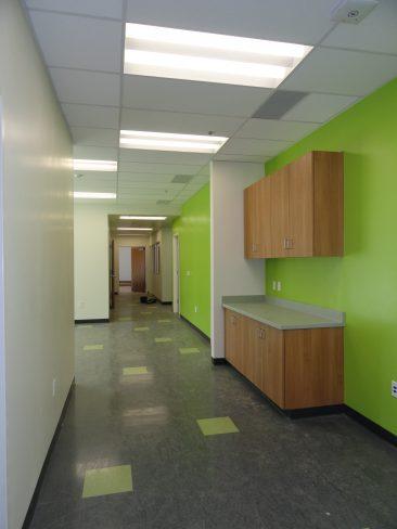 M&O Building Hallway