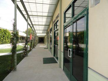 Art Building - Exterior Canopy