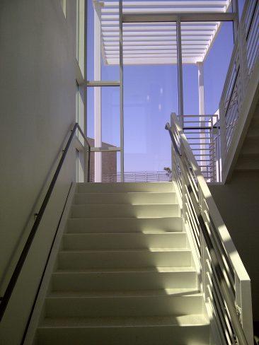 Long Beach Gas & Oil - Interior Stairs