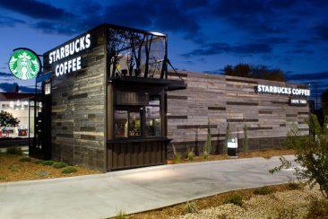 Starbucks Modular Building
