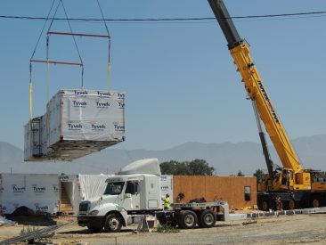 Valendia Grove Housing Community - Modular Building Installation