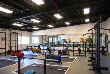Modular Gym Building